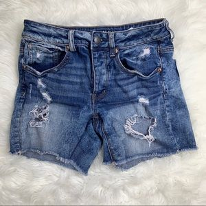 American Eagle Tomgirl Cut Off Shorts